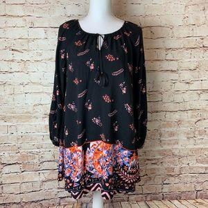 EXPRESS Floral Shift Coverup Dress
